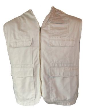 MENS SLEEVELESS BUSH JACKET