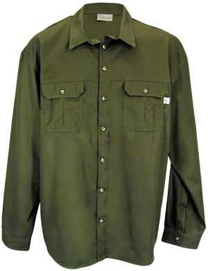 RANGERS BUSH SHIRT LS WITH ROLL UP SLV TABS