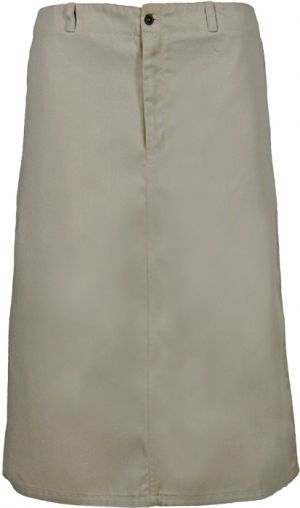 LADIES HALF ELASTICATED BELOW KNEE LENTH SKIRT, 69.5CM