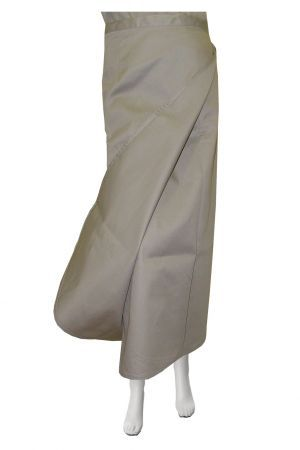 LADIES PLAIN WRAP SKIRT, 1 PANEL