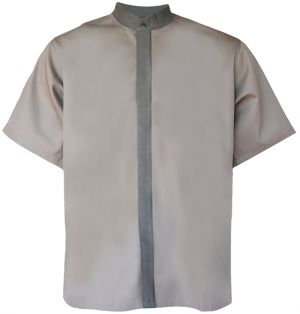 MENS MADIBA COLLAR SHIRT SS