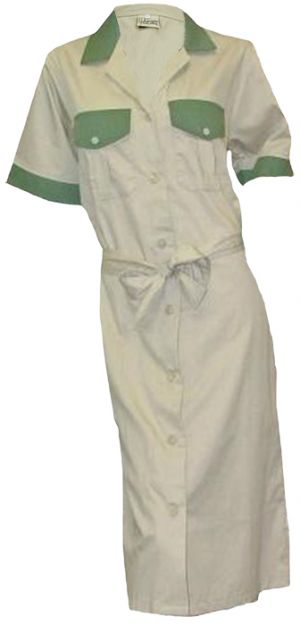 LADIES BUSH SMOCK WITH A BELT