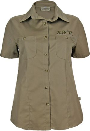 LADIES BUSH SHIRT SHAPED SS