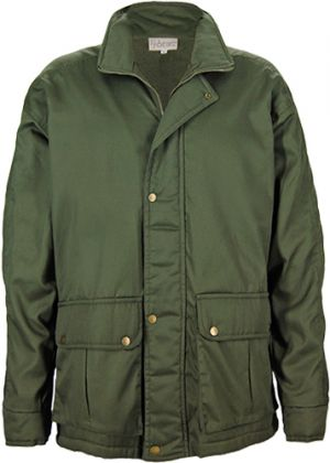PARKA JACKET WITH 2 BOTTOM BELLOW POCKETS