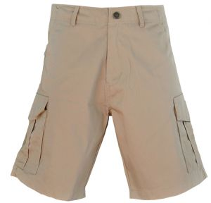 MENS BASIC CARGO SHORTS - FLAT FRONT