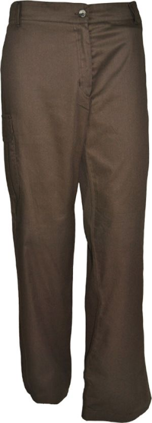 LADIES CARGO LOW RISE FLAT FRONT PANTS