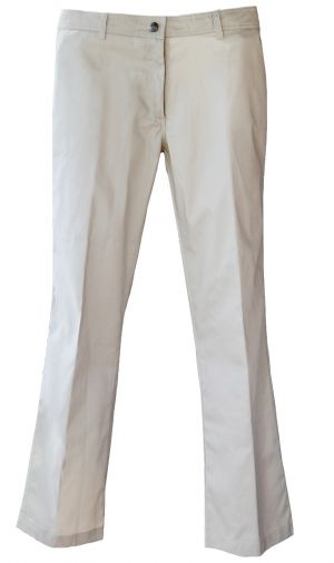 LADIES LOW RISE FLAT FRONT TROUSERS
