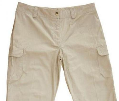 LADIES CARGO SHORTS, REGULAR WAIST HEIGHT