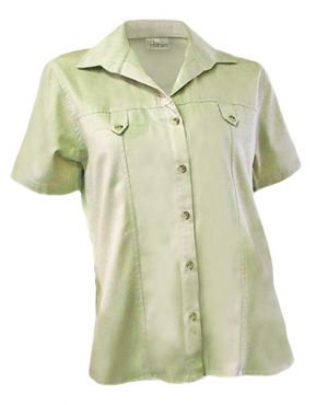 LADIES TAB POCKET SHIRT SS