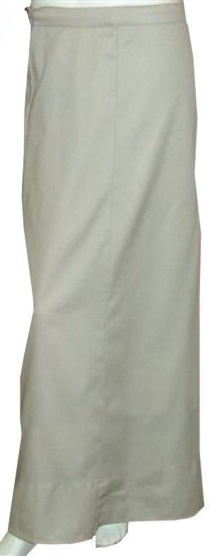 LADIES 8 PANEL WRAP ANKLE LENGTH SKIRT, NO TRIM