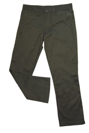 LADIES FITTED PANTS WITH LEG ZIP DETAIL