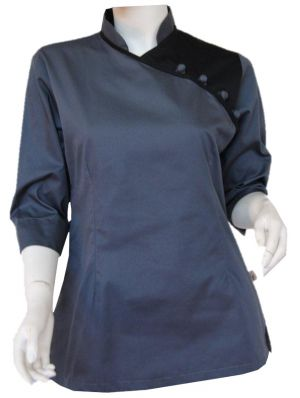 LADIES 3/4 SLEEVE SPA TOP