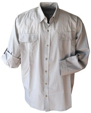MENS CASUAL 2 POCKET SHIRT