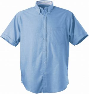 MENS OXFORD SS LOUNGE SHIRT WITH INNER CONTRAST