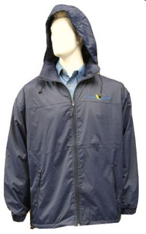 MENS WINDBREAKER WITH PF LINING & ZIP PKTS