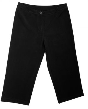LADIES MID RISE CAPRI PANTS