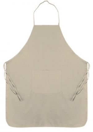 CHEF APRON WITH FRONT POCKET, 86X76CM