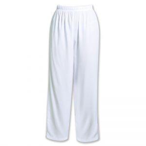 LADIES ELASTICATED LONG PANTS