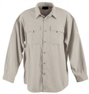 MENS COTTON BUSH SHIRT LS