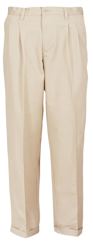 MENS CHINOS - FRONT PLEATS