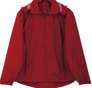 LADIES WINDBREAKER WITH HOOD