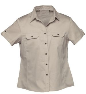 LDS COTTON BUSH SHIRT