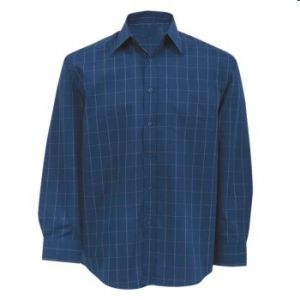 MENS CHECK LOUNGE SHIRT LS