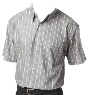 MENS STRIPE LOUNGE SHIRT