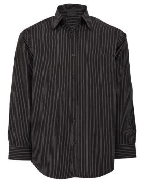MENS SUBLE STRIPE LOUNGE SHIRT LS