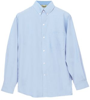 MENS 100% COTTON CHAMBRAY LS SHIRT
