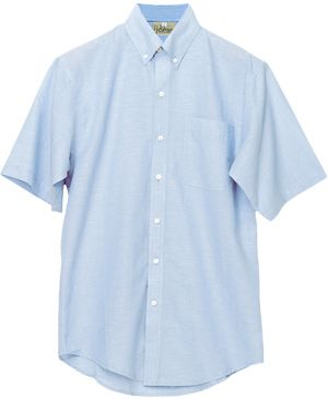 MENS 100% COTTON CHAMBRAY SS SHIRT