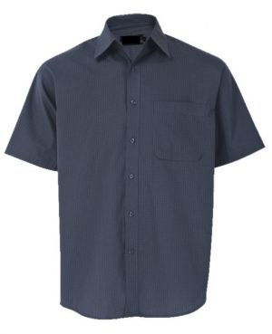 MENS SMALL CHECK LOUNGE SHIRT SS