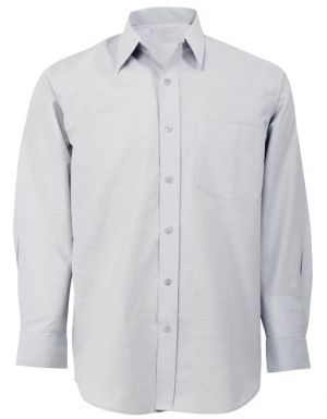 MENS CHAMBRAY LOUNGE SHIRT LS