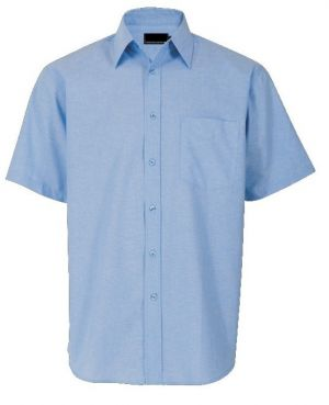 MENS CHAMBRAY LOUNGE SHIRT SS