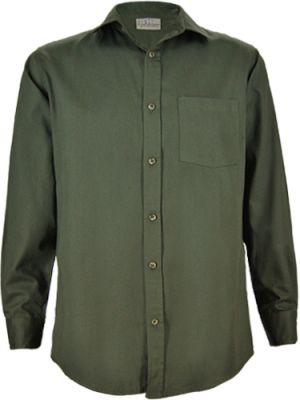 MENS CLASSIC COTTON TWILL LS SHIRT