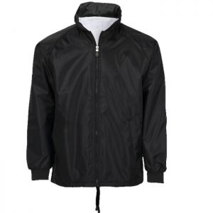 WINDBREAKER WITH TOWLING LINING & CONCEALED HOOD