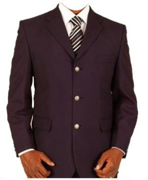 MENS SINGLE BREASTED BLAZER WITH 3 BUTTONS