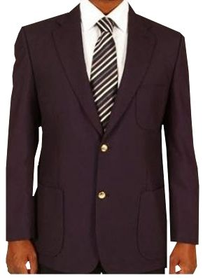 MENS SINGLE BREASTED 2 BUTTON BLAZER