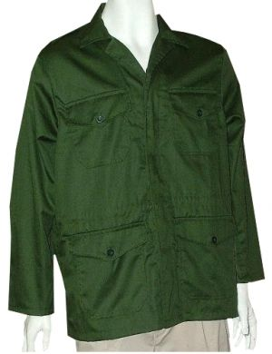 MENS LONGER LENTH JACKET UNLINED