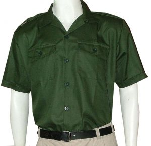 TRACKERS & GUIDES SHIRT SS WITH EPAULETTES