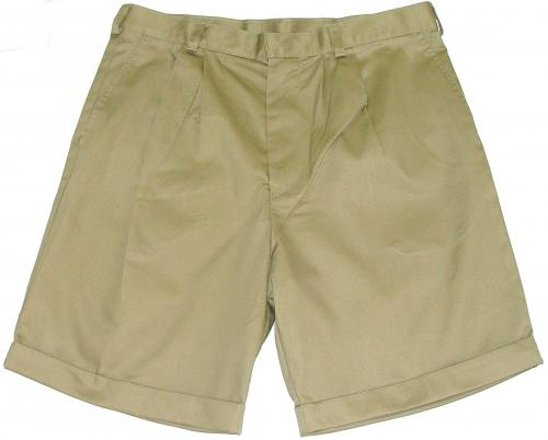 MENS TRACKER CHINO SHORTS - FRONT PLEATS