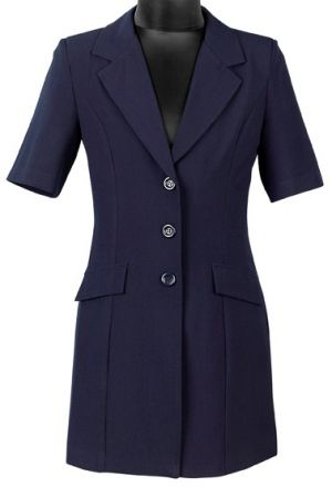 LADIES SS JACKET - LONGER LENGTH