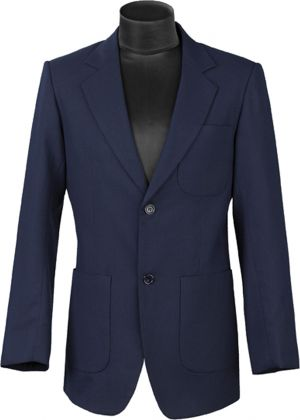 MENS TAILORED 2 BUTTON BLAZER