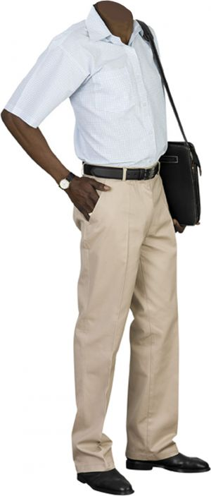 MENS CHINOS, LONG LENGTH LEG - FLAT FRONT