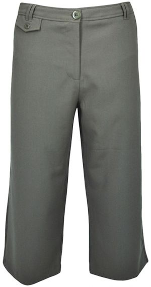 LADIES FORMAL CAPRI PANTS - MIDRISE