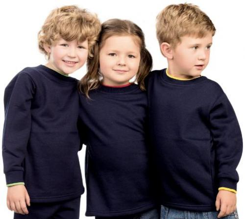 KIDS LONG SLEEVE FLEECE SWEATER