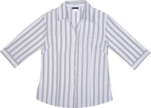 LADIES 3/4 STRIPE SHIRT