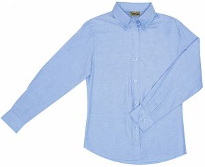 LDS FORMAL COTTON OXFORD SHIRT, LS