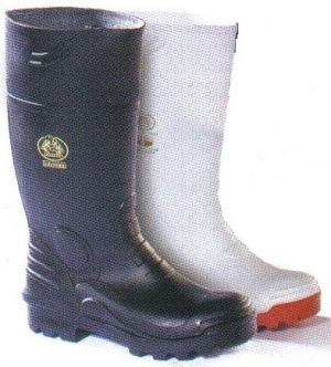 MENS BLACK GUMBOOT