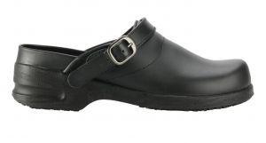 LADIES OPEN BACK CLOG, SWIVEL STRAP - NSTC